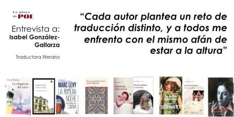 Isabel González Gallarza entrevista