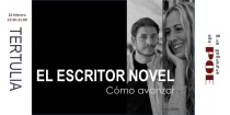 escritores noveles charla