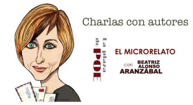 Banner CHARLA CON AUTORES Microrelato Beatris A A