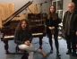 Pablo y Llarina, en estudio Black Betty