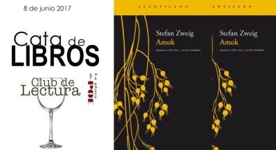 CATA DE LIBROS. Amok.Zweig-2017
