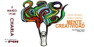 Charla. Mente y creatividad