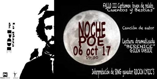 NOCHE POE 2017 programa