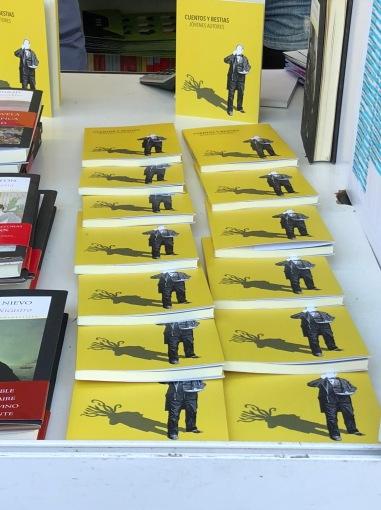 Cuentos y bestias. Feria del libro de Madrid