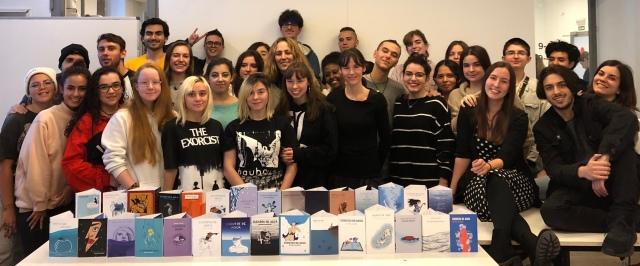 alumnos IED participantes CUBIERTA CUENTOS DE AGUA