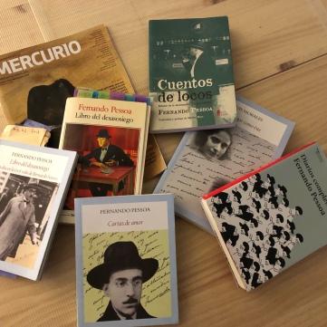 Catas literarias en la plaza de Poe Fernando Pessoa