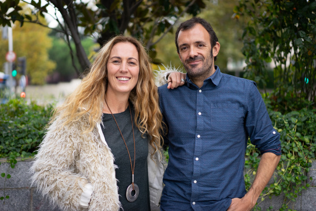Isaac Rosa y Eva Losada Casanova 2019 Foto de David Nade