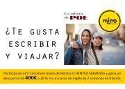 Te gusta viajar y escribir_Mimo Idiomas V Certamen Poe_banner_OK2