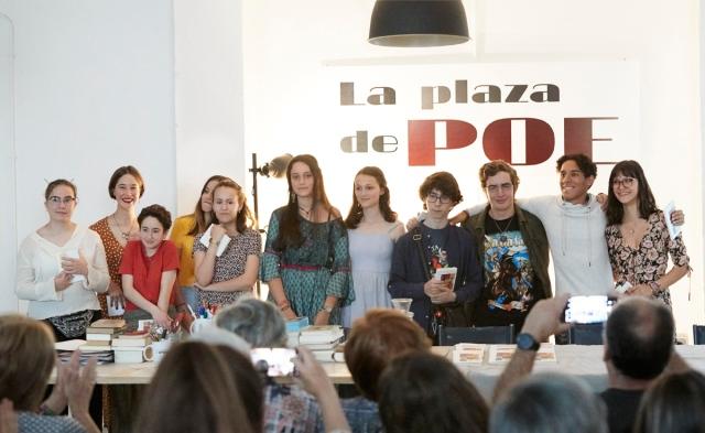 Alumnos taller joven de creación literaria de La plaza de Poe. todos los derechos reservados