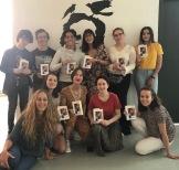 Alumnos Taller joven de creación literaria. La plaza de Poe 2019 Con Eva Losada Casanova