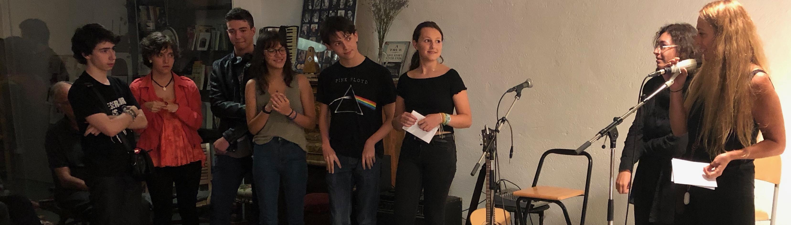 entrega de premios V certamen joven de relato 2019