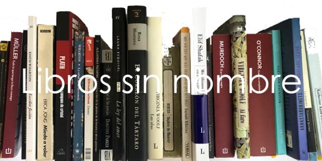 Libros sin nombre día internacional de la mujer 2020 Eva Losada