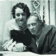 Bulgakov con su mujer Helena Sergeevna