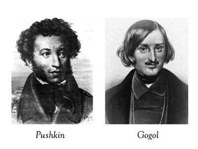 Gogol y Puskin