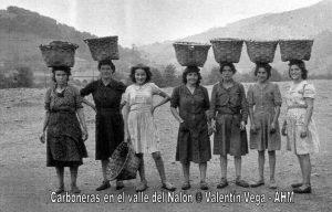 Mujeres mineras Asturias siglo XIX