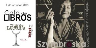 CATA DE POESÍA 1 de octubre. Szymbroska
