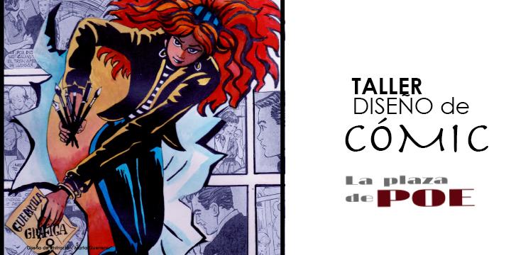 Banner TALLER de DISEÑO DE CÓMIC 2021